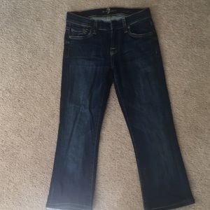 7 Crop flare jeans
